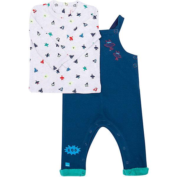 Catimini Комплект (джемпер+комбинезон) Catimini для мальчика комплекты детской одежды мамуляндия комплект для мальчика полукомбинезон и футболка клякса