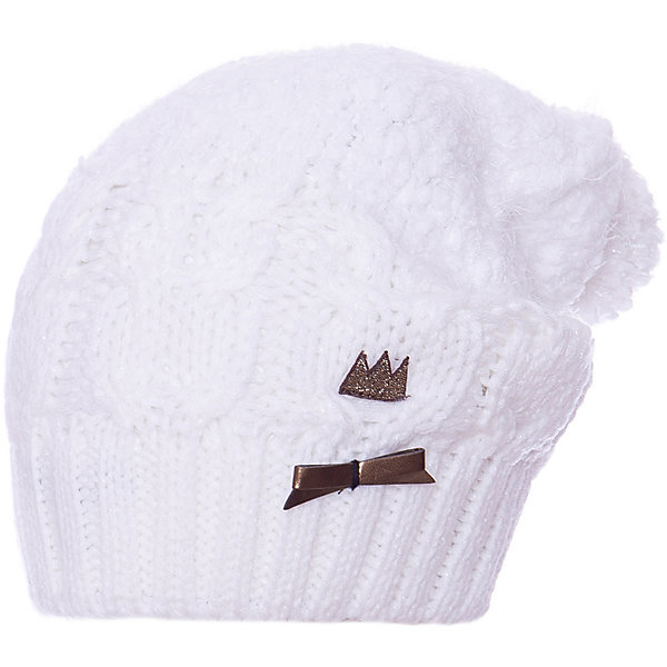Catimini Шапка Catimini для девочки шапочки и чепчики coccodrillo шапка с помпоном для девочки make a wish