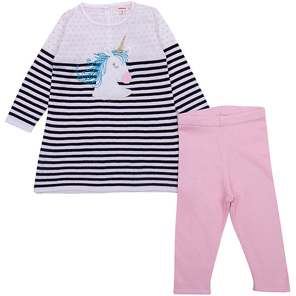 Catimini Комплект (платье+штанишки) Catimini для девочки брюки джинсы и штанишки coccodrillo леггинсы для девочки oh ok