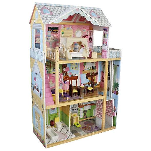 Фото - Lanaland Домик для кукол Lanaland Стефани, с аксессуарами мебель для кукол iq format в домик для кукол lol колыбелька и качалка бежевый