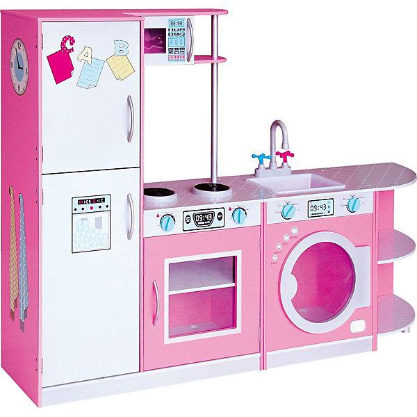 Купить Деревянная кухня Lanaland Верона , Китай, розовый, Женский