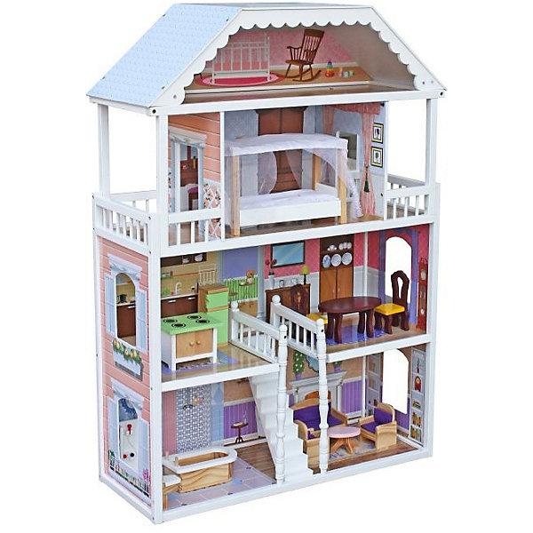 Фото - Lanaland Домик для кукол Lanaland Николь, с аксессуарами мебель для кукол iq format в домик для кукол lol колыбелька и качалка бежевый