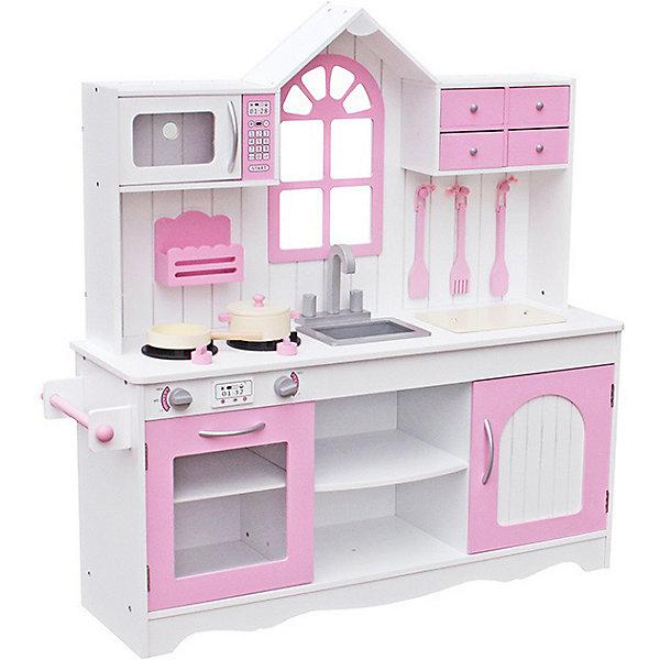 Купить Деревянная кухня Lanaland Прованс , Китай, розовый/белый, Женский