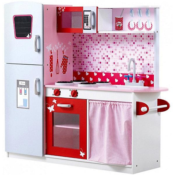 Купить Деревянная кухня Lanaland Флоренция , Китай, розовый/белый, Женский