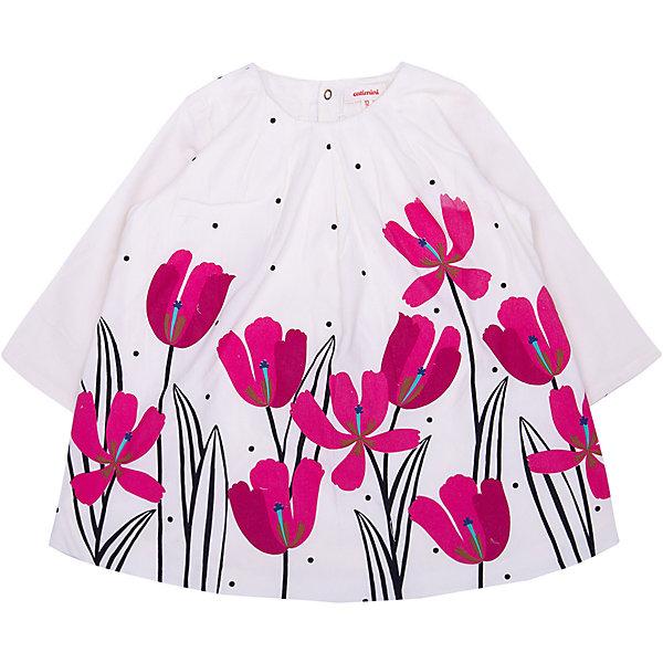 Catimini Платье Catimini для девочки платье вечернее платье для девочек 20128 платье для девочек с длинным рукавом