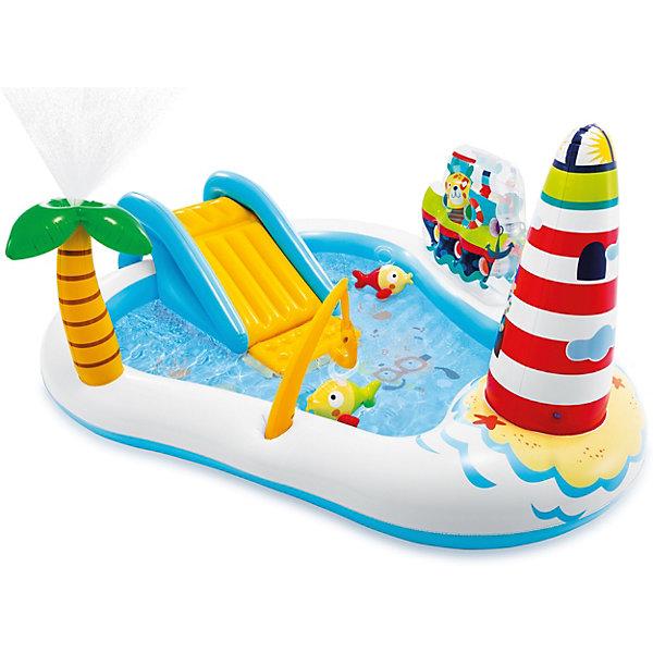 Купить Надувной игровой центр-бассейн Intex Веселая рыбалка , 57162NP, Китай, разноцветный, Унисекс
