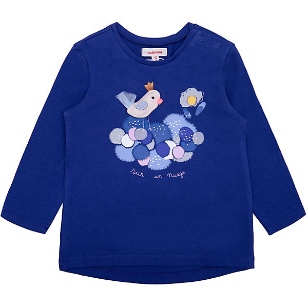Catimini Футболка с длинным рукавом Catimini для девочки футболка с длинным рукавом мужская levi s® цвет темно синий 3601500090 размер xl 52