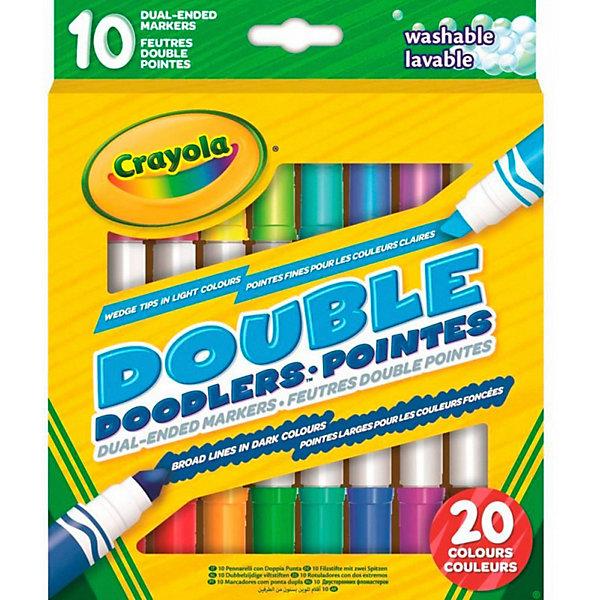 Crayola Двусторонние фломастеры Crayola crayola двусторонние фломастеры crayola