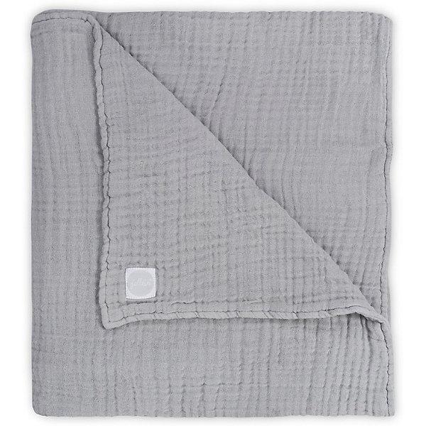 jollein Муслиновое одеяло Jollein, 120х120 см (Серый)