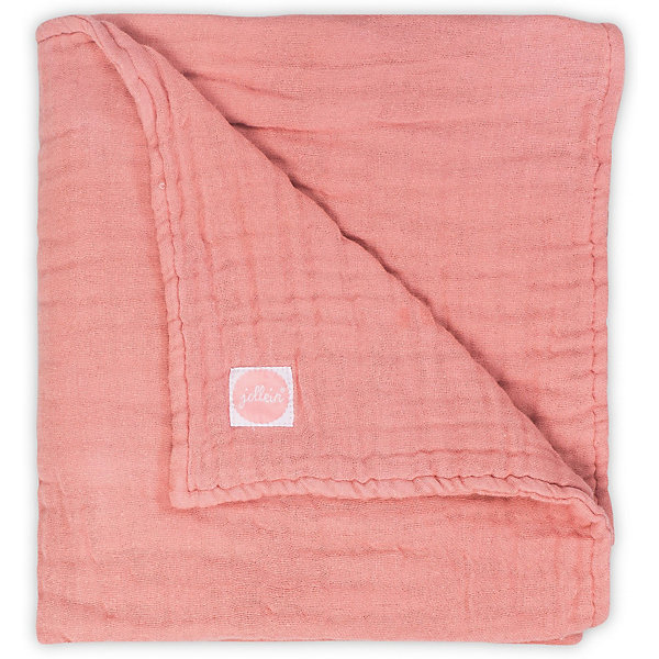 jollein Муслиновое одеяло Jollein, 75х100 см (Коралловый)