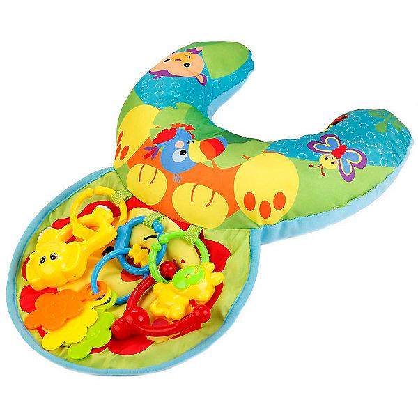 Умка Развивающий коврик-подушка Умка Львёнок развивающий коврик расти малыш волшебная страна dm kok01 m