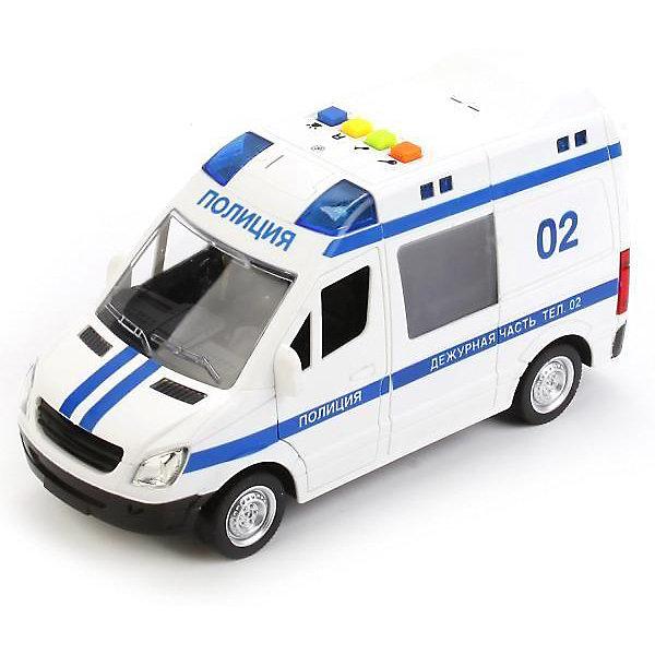 ТЕХНОПАРК Машинка Технопарк Полиция, 22 см игрушка технопарк полиция со светофором ct10 060 1