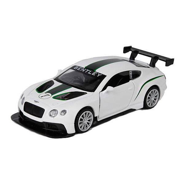 ТЕХНОПАРК Коллекционная машинка Технопарк Bentley Continental GT3, 1:43 модель машины mini cut 1 18 bentley mulsanne