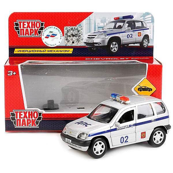 ТЕХНОПАРК Машинка Технопарк Chevrolet Chevy-Niva Полиция, 12 см
