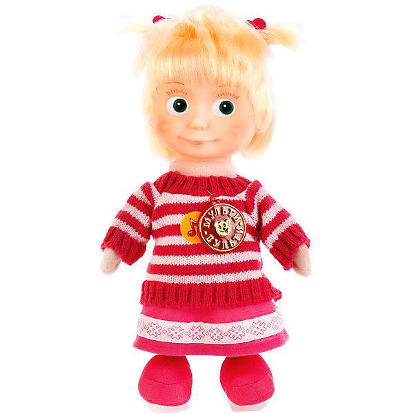 Мульти-Пульти Мягкая игрушка Мульти-Пульти Маша и Медведь Маша 26 см, озвученная