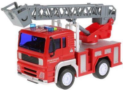 Машинка Технопарк Пожарная машина, 17 см, артикул:9568399 - Транспорт