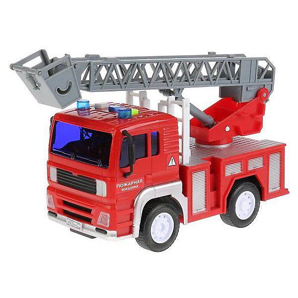 ТЕХНОПАРК Машинка Технопарк Пожарная машина, 17 см технопарк машина камаз пожарная технопарк