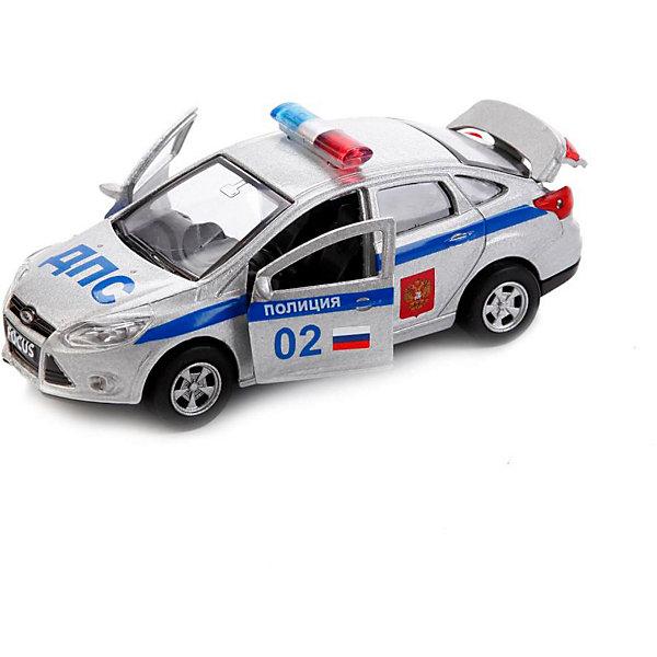 Купить Машинка Технопарк Ford Focus Полиция, 12 см, ТЕХНОПАРК, Китай, разноцветный, Мужской