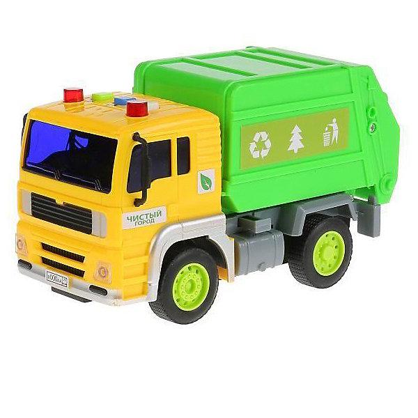 ТЕХНОПАРК Машинка Технопарк Мусоровоз, 17 см технопарк технопарк мусоровоз
