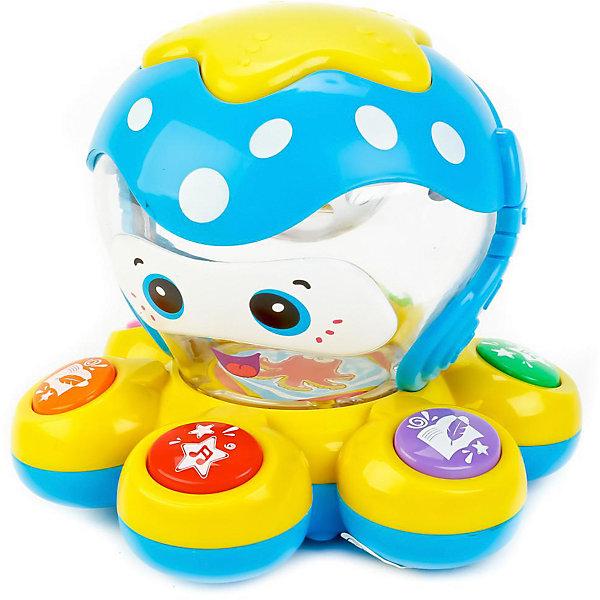 Умка Музыкальная игрушка Умка Осьминожек, 6 песен игрушка умка часы сказки с проекцией b1266129 r4 250286