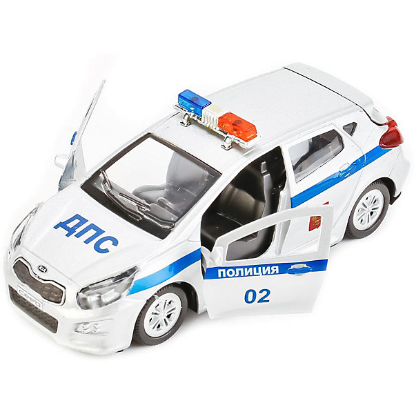 ТЕХНОПАРК Машина Технопарк Kia Ceed Полиция, 12 см