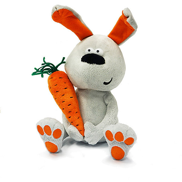 Купить Мягкая игрушка ДуRашки Заяц & Morkovka, Китай, Унисекс