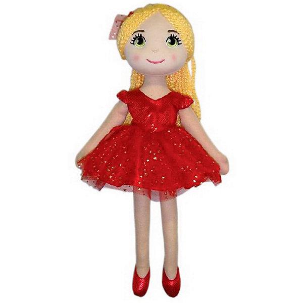 ABtoys Кукла Балерина в красной пачке, 40 см