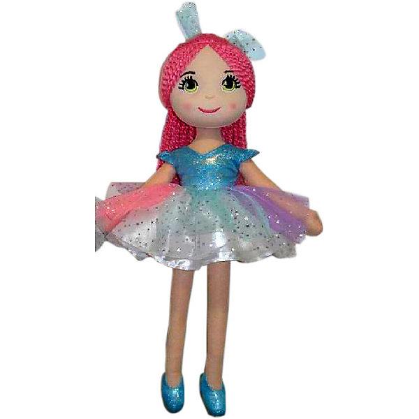 Кукла ABtoys Балерина в голубой пачке, 40 смМягкие куклы<br>Характеристики:<br><br>• возраст: от 3 лет<br>• высота куклы: 40 см.<br>• материал: текстиль<br><br>Мягконабивная кукла-балерина станет лучшей подругой девочки. Кукла мягкая и приятная на ощупь, ее все время хочется обнимать и носить в руках.<br><br>Кукла одета в пачку, на ногах - пуанты. Волосы у куклы выполнены из пряжи. Лицо очень милое и приятное: большие глазки, пушистые реснички, нежный румянец на щечках.<br><br>Игры с куклой способствуют развитию воображения, познавательного мышления и моторики.