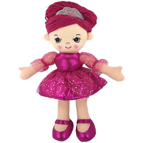 Купить Мягкая кукла ABtoys Балерина в розовом платье, 30 см, Китай, розовый, Женский