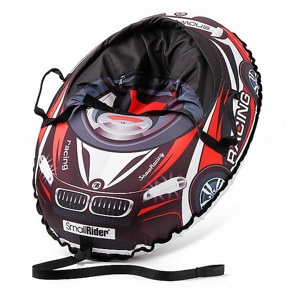 Small Rider Санки-тюбинг с сиденьем Small Rider Snow Cars 3 ВМ, чёрно-красные