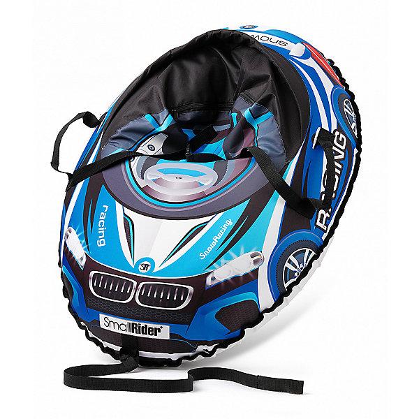 Купить Санки-тюбинг с сиденьем Small Rider Snow Cars 3 ВМ, синие, Россия, синий, Мужской