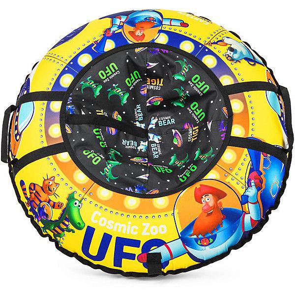Small Rider Санки-тюбинг Small Rider UFO CZ, жёлтый капитан клюква cosmic zoo надувные санки ватрушка ufo желтый капитан клюква 472063 цв 1085277