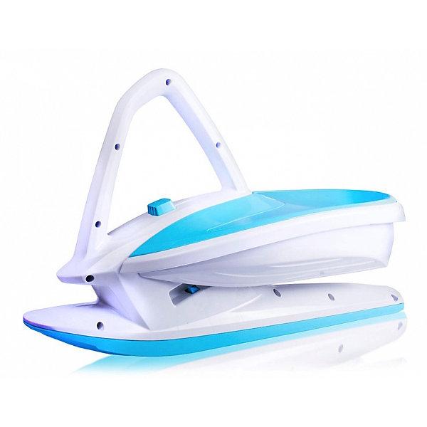 Gismo Riders Балансир на лыже Gismo Riders Skidrifter, бело-синий ледянки gismo riders детские санки ледянка c ручками и тормозом supernova 60 см
