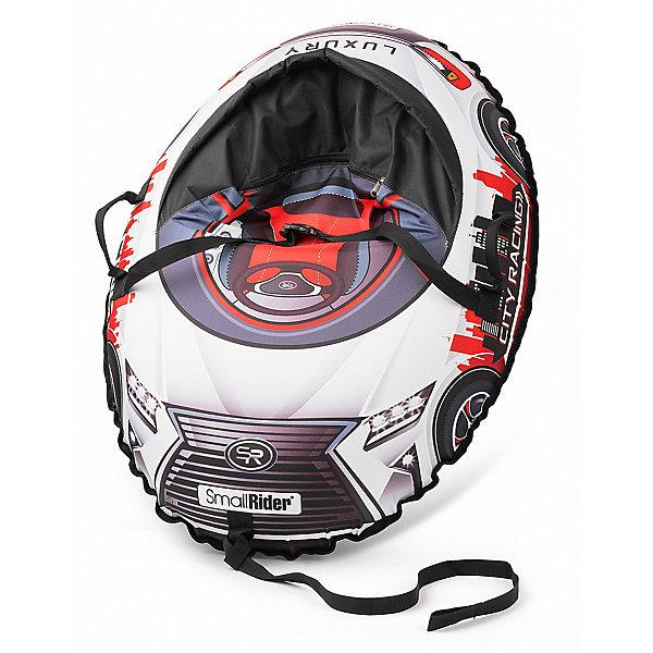 Small Rider Санки-тюбинг с сиденьем Small Rider Snow Cars 3 LX, красные