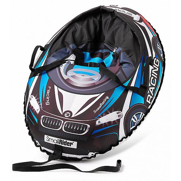 Купить Санки-тюбинг с сиденьем Small Rider Snow Cars 3 ВМ, чёрно-синие, Россия, синий, Мужской