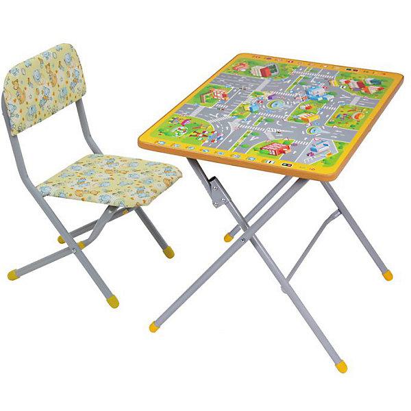 ФЕЯ Комплект детской мебели Фея Досуг 301 ПДД цена в Москве и Питере