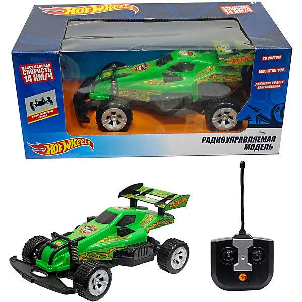 Купить Радиоуправляемый багги 1Toy Hot Wheels 1:20, зелёный, Китай, зеленый, Унисекс
