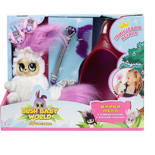 Интерактивная мягкая игрушка 1Toy Bush baby world