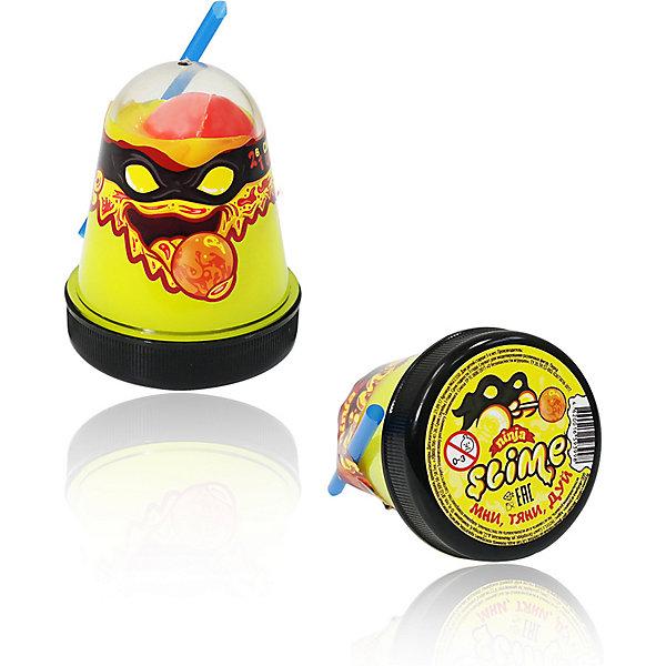 Купить Лизун Slime Ninja и красный, Лизун Slime Ninja желтый и красный, Волшебный мир, Россия, Унисекс