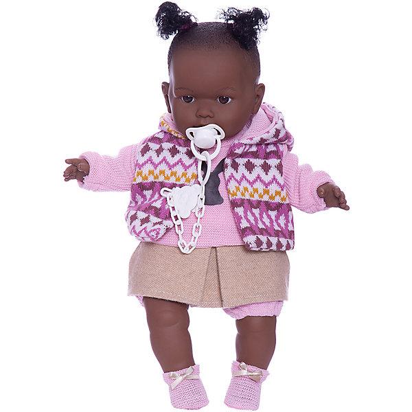 Купить Кукла Llorens Николь 42 см, со звуком, Испания, бежевый/розовый, Женский
