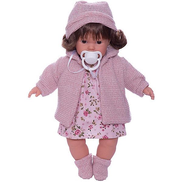 Купить Кукла Llorens Айзель 33 см, со звуком, Испания, розовый, Женский