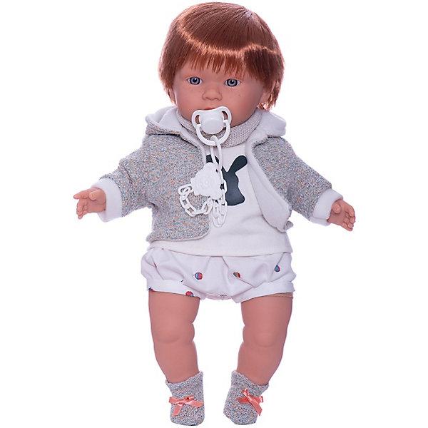 Llorens Кукла Кристиан 42 см, со звуком