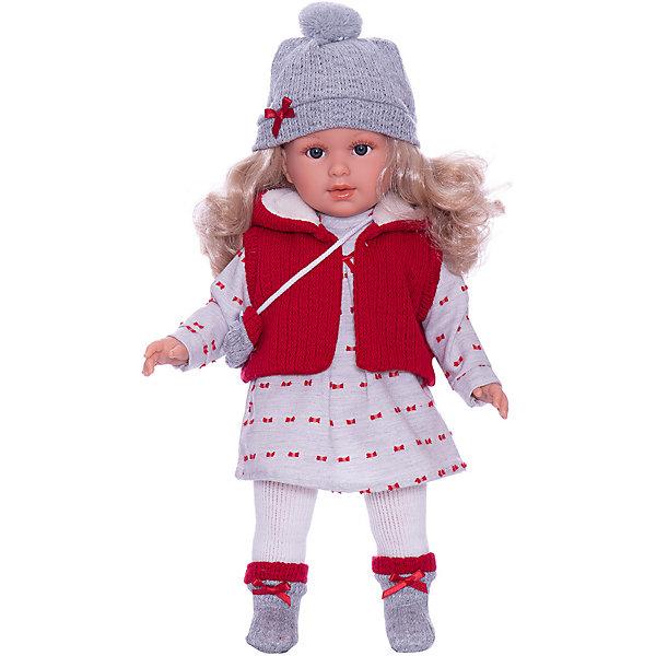 Llorens Кукла Llorens Мартина в красно-белом, 40 см куклы и одежда для кукол llorens кукла валерия азиатка 28 см l 28022