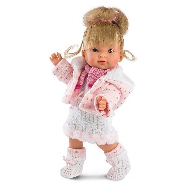 Llorens Кукла Llorens Валерия, 28 см куклы и одежда для кукол llorens кукла валерия азиатка 28 см l 28022