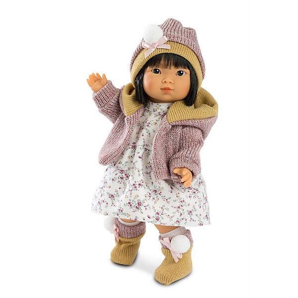 Llorens Кукла Llorens Валерия азиатка, 28 см llorens кукла валерия 28 см llorens