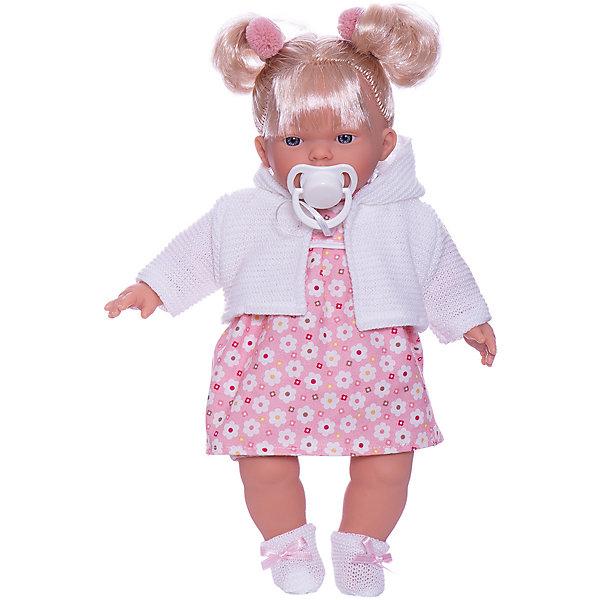 Купить Кукла Llorens Кристина 33 см, со звуком, Испания, разноцветный, Женский