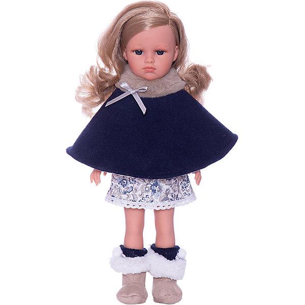 Llorens Кукла Llorens Оливия в синем, 37 см куклы и одежда для кукол llorens кукла валерия азиатка 28 см l 28022