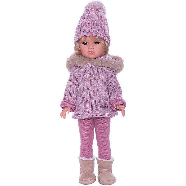 Llorens Кукла Llorens Оливия в розовом, 37 см куклы и одежда для кукол llorens кукла валерия азиатка 28 см l 28022