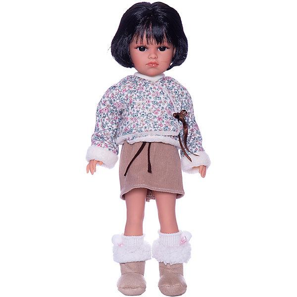 Llorens Кукла Оливия в коричневом, 37 см