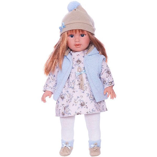 Llorens Кукла Llorens Мартина в бело-голубом, 40 см куклы и одежда для кукол llorens кукла валерия азиатка 28 см l 28022